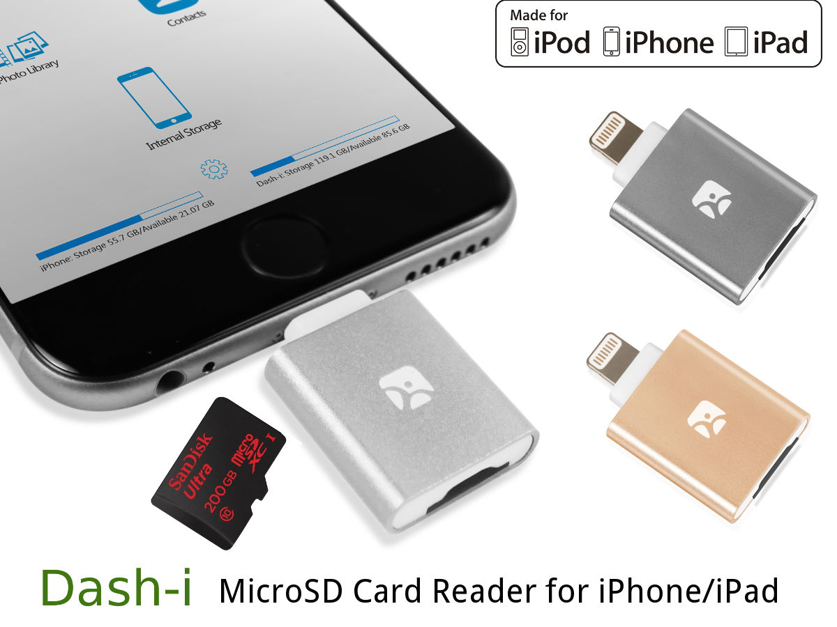 Welcome Iflash Device Hd Drive Otg Card Reader For Iphone Ipad Dash Type C Microsd
