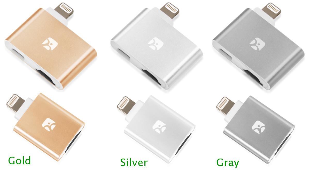Dash-i and Dash-i Plus MicroSD Reader for iPhone/iPad by Meenova
